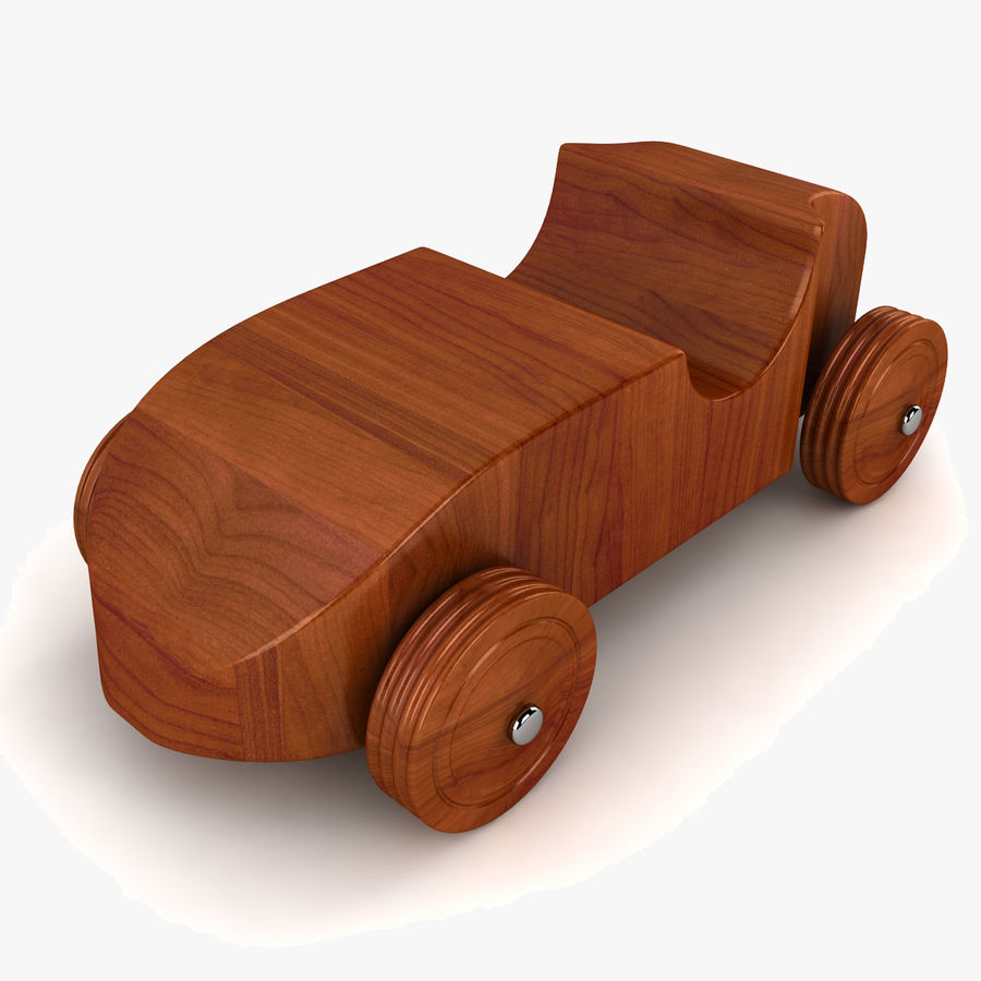 Speed Racer Car Toy royalty-free 3d model - Preview no. 1