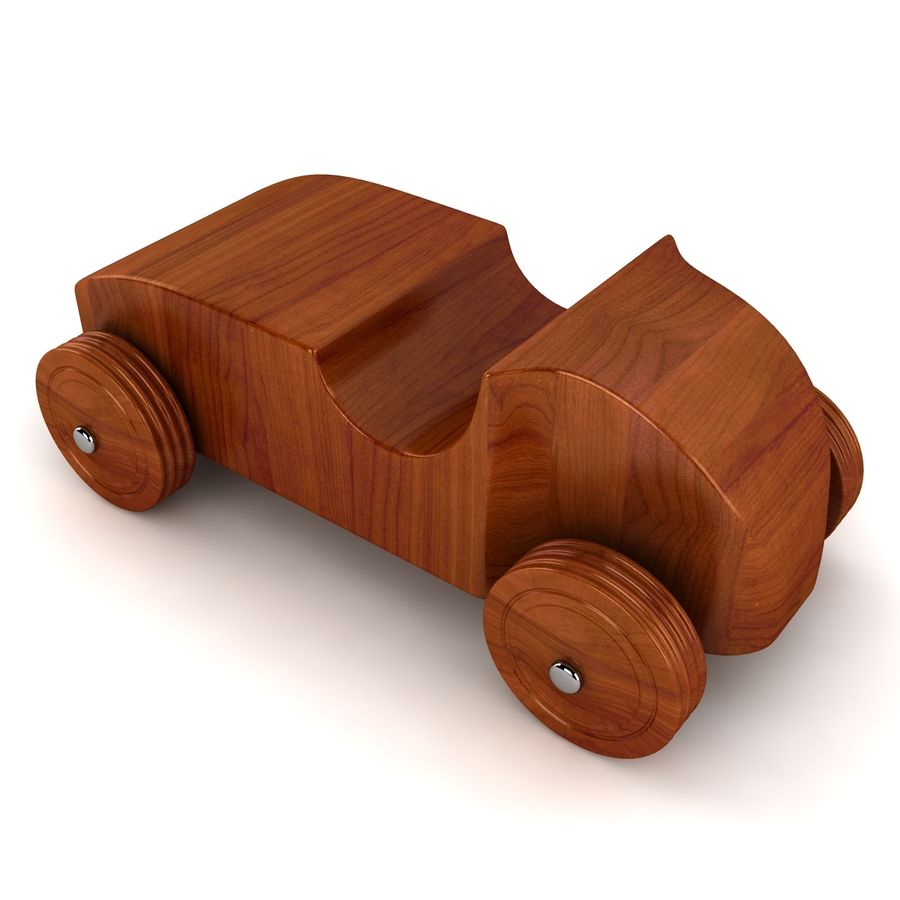 Speed Racer Car Toy royalty-free 3d model - Preview no. 2