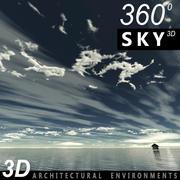 Gökyüzü 3D Günü 002 3d model