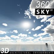Gökyüzü 3D Günü 004 3d model