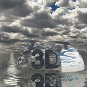 Gökyüzü 3D Günü 006 3d model