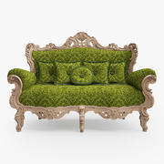经典沙发 3d model