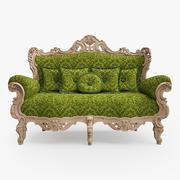 Klassisches Sofa 3d model