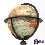 Античный глобус 3d model