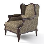 优雅翼椅 3d model
