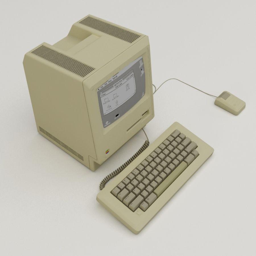 Macintosh royalty-free 3d model - Preview no. 2