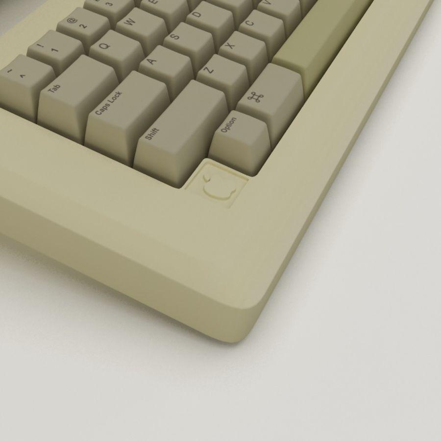 Macintosh royalty-free 3d model - Preview no. 3