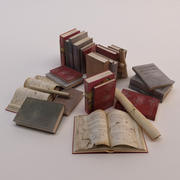 Eski kitaplar 3d model