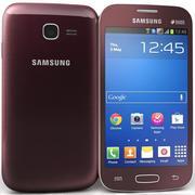 Samsung Galaxy Star Pro S7260 Rood 3d model