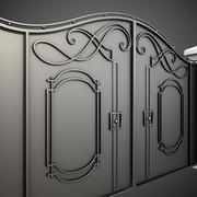 Wrought Iron Gate 7 3d model