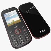 NIU Lotto N104 Rood 3d model