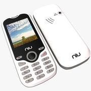 NIU Lotto N104 Wit 3d model