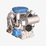 엔진 3d model