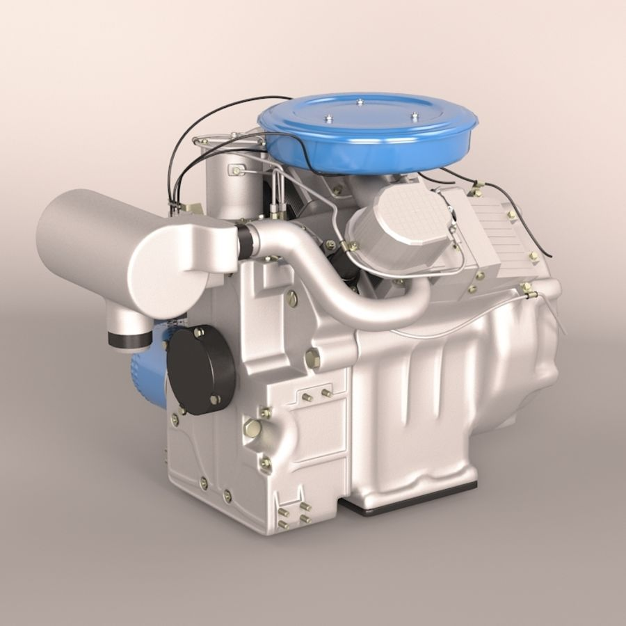 Engine royalty-free 3d model - Preview no. 4