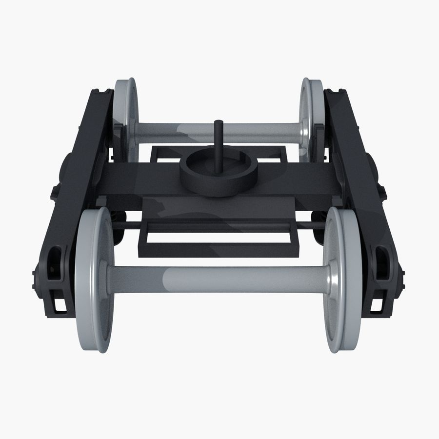 Güterwagen royalty-free 3d model - Preview no. 8