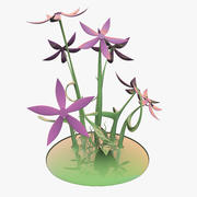 Fleur de verre 3d model