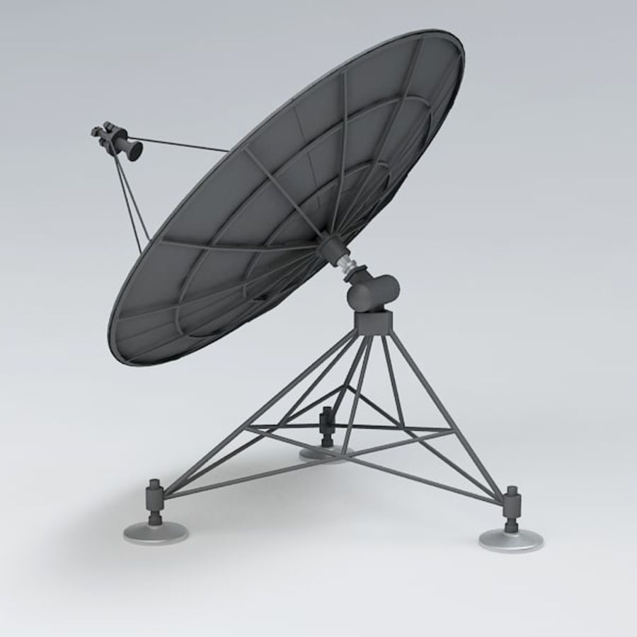 Antena de satélite royalty-free 3d model - Preview no. 5