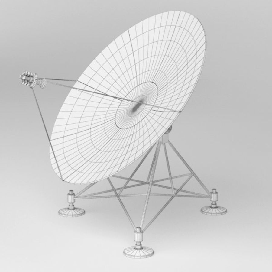 Antena de satélite royalty-free 3d model - Preview no. 8