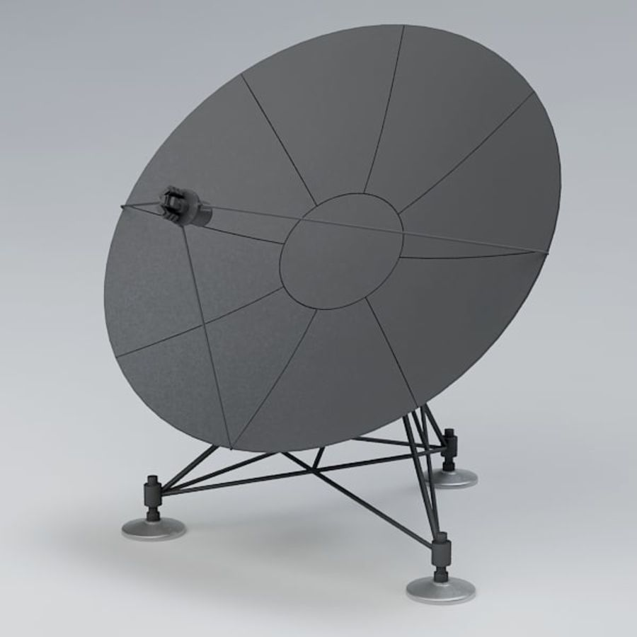 Antena de satélite royalty-free 3d model - Preview no. 2