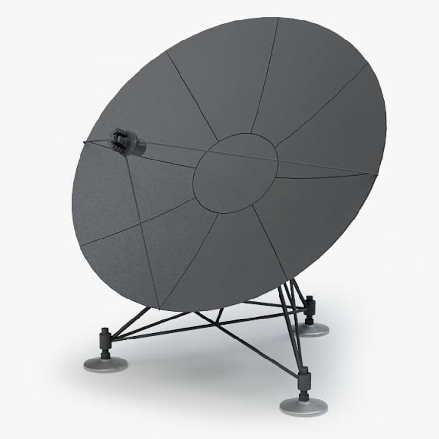 Antena de satélite royalty-free 3d model - Preview no. 1