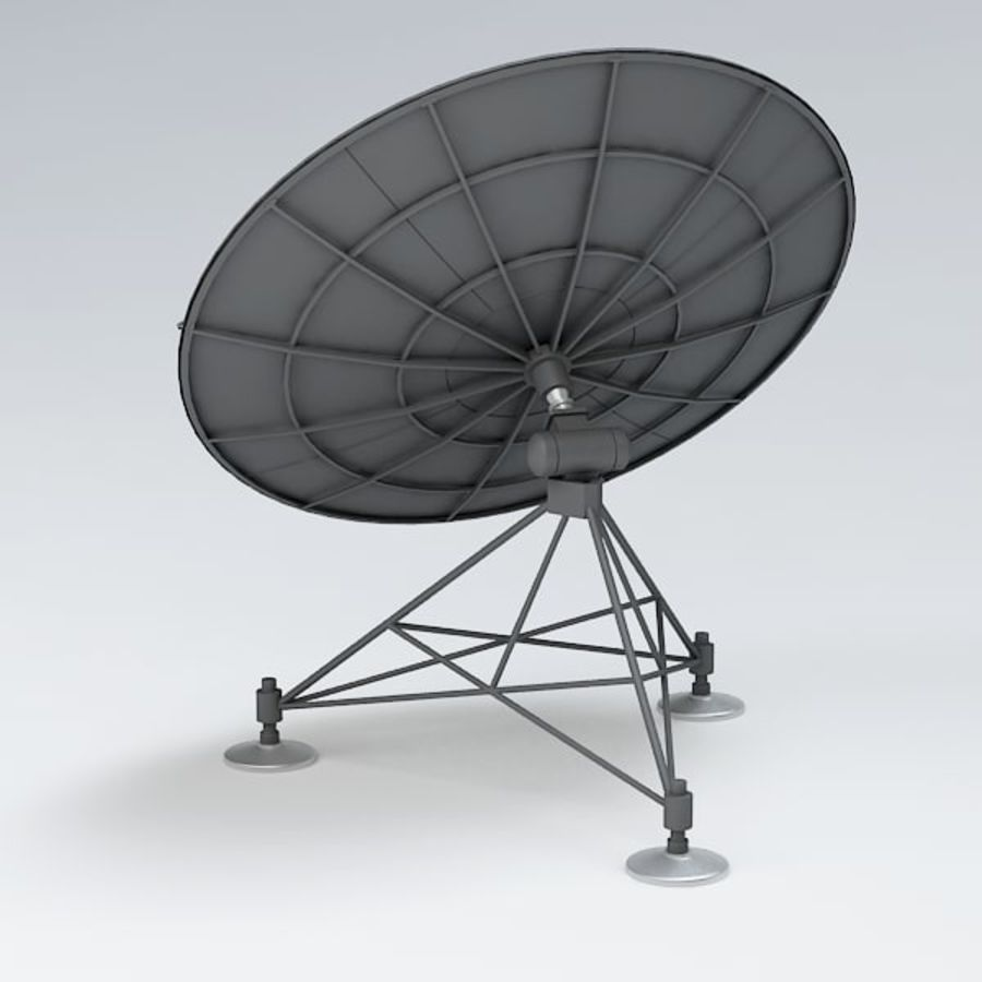 Antena de satélite royalty-free 3d model - Preview no. 6