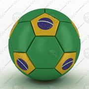 2014年ワールドカップブラジルボール 3d model