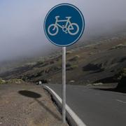Znak rowerowy 3d model