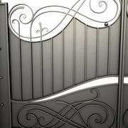 Wrought Iron Gate 10 3d model