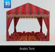 Arabiskt tält 3d model