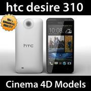 htc desire 310 C4D 3d model