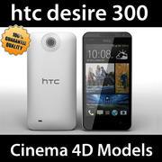 htc desire 300 C4D 3d model