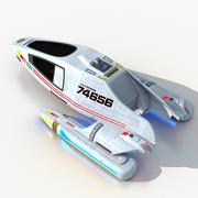 Тип шаттла 9 3d model