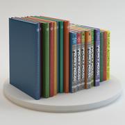 图书漫画 3d model