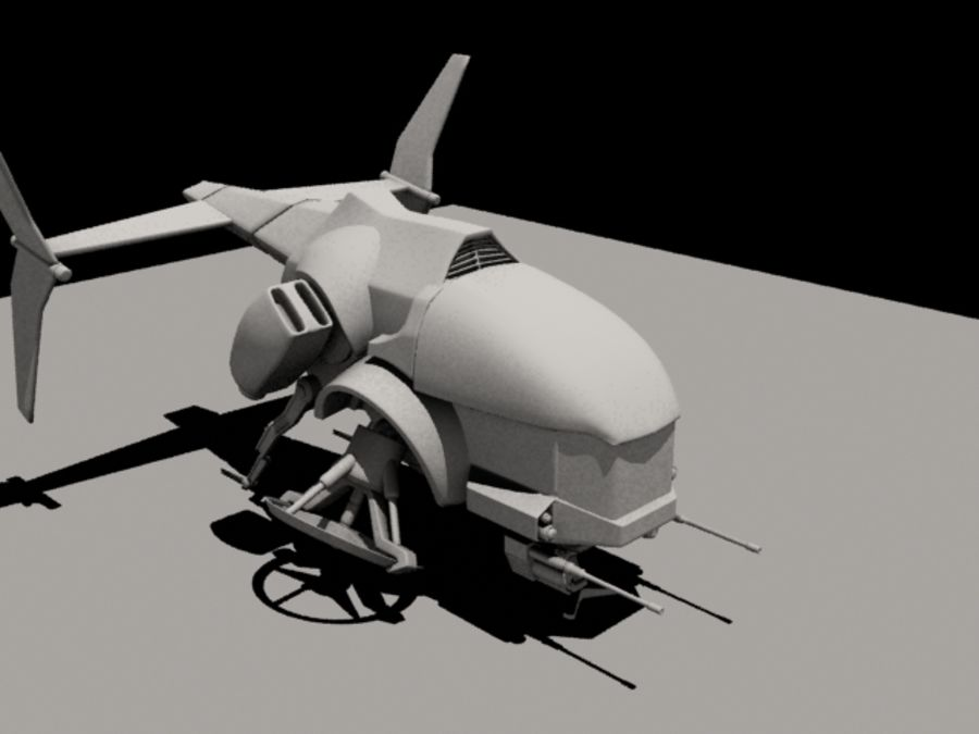 航空機 royalty-free 3d model - Preview no. 3