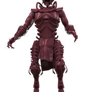szkielet potwór 3d model