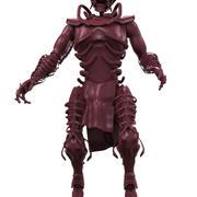 iskelet canavarı 3d model