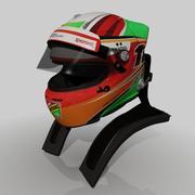 Casco Sergio Perez 2014 3d model