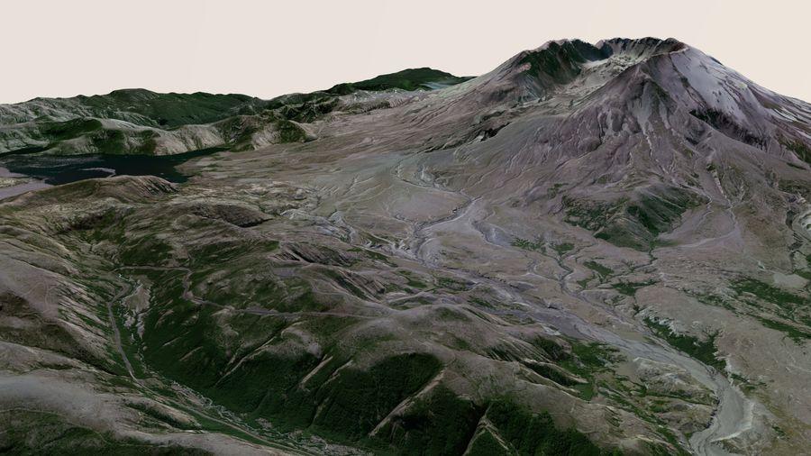 Mt Saint Helens radiometrikus randevú