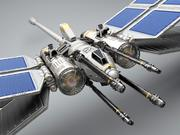 Dragonfly Fighter 3d model