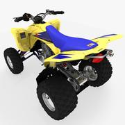 Suzuki LTZ-400 quad bike 3d model