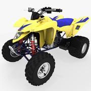 Suzuki LTZ-400 quad bike 3d model