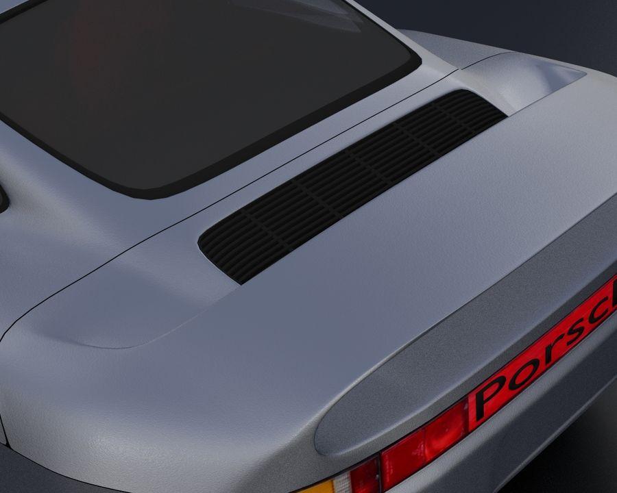 Porsche 959 royalty-free 3d model - Preview no. 13