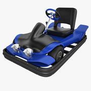 Electric Go Kart 01 3d model