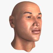 중년의 남자 얼굴 3d model