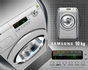 Çamaşır Makinesi 10kg 3d model