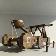 Catapult Animated F 3d model