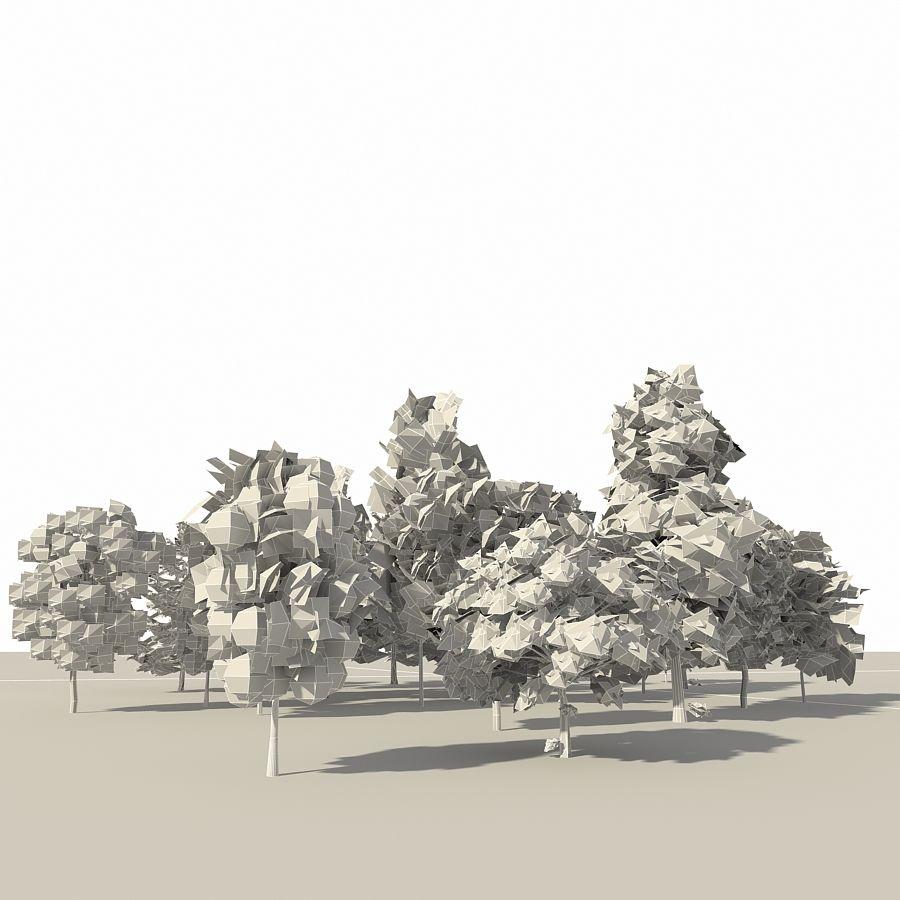 树森林 royalty-free 3d model - Preview no. 15