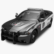 2012 Dodge Charger Pursuit 3d model