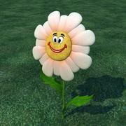Flower Smile 3d model
