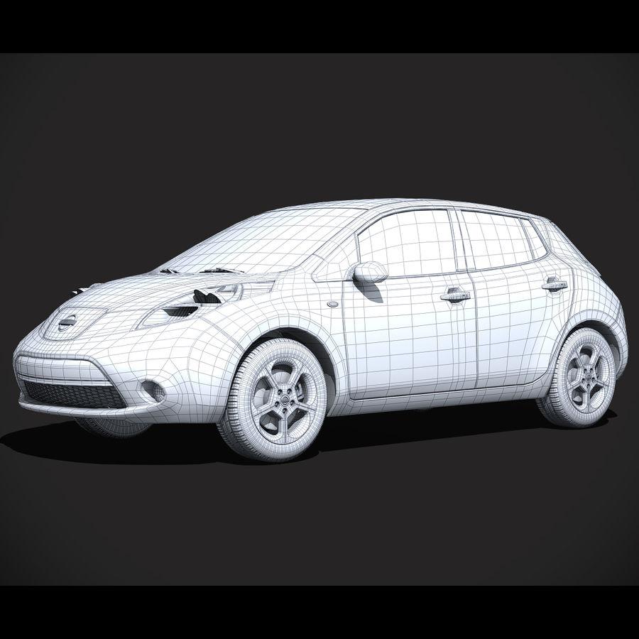 Лист ниссана royalty-free 3d model - Preview no. 6
